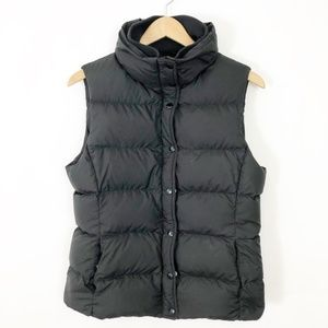 J. Crew Womens Down Puffer Vest Black Medium